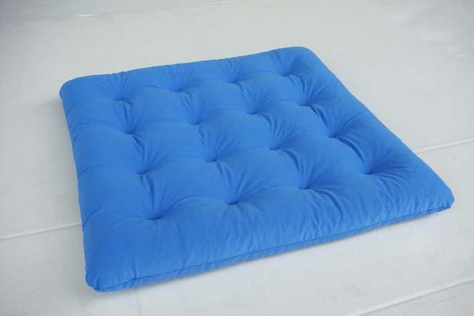 固态凝胶座垫